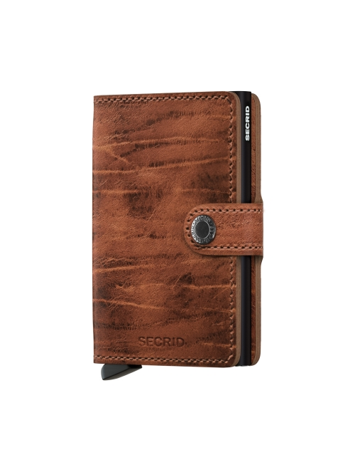 Secrid wallet whiskey front