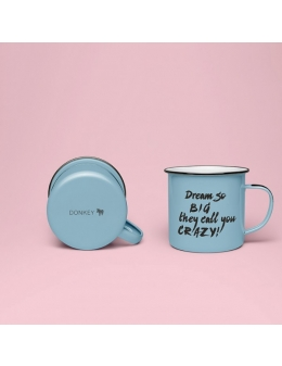 Kopp - Enamel Quotes (Dream So Big)