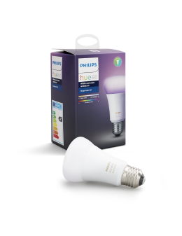 Philips Hue White and Color Ambiance glödlampoa - 10W, A60, E27
