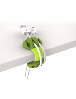 Sladdhållare - Desk Cable Clip (Lime)