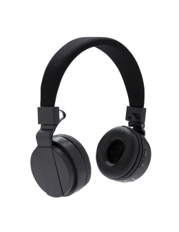 Headset - Foldable bluetooth headphone (Svart)