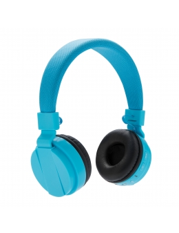 Headset - Foldable bluetooth headphone (Blå)