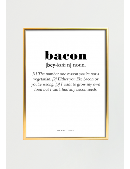 Bacon Definition 30x40