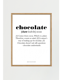 Chocolate Definition 50x70