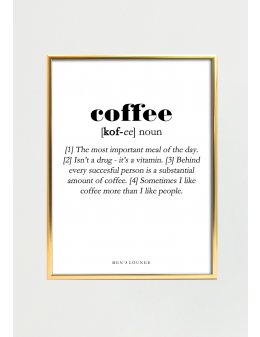 Coffee Definition A4