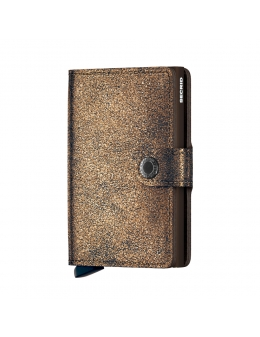 Secrid mini wallet glamour bronze