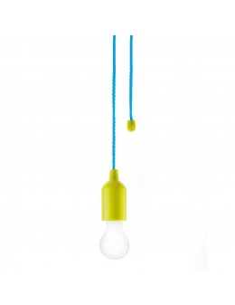 Lampa m. batteri - Pull lamp (Lime)