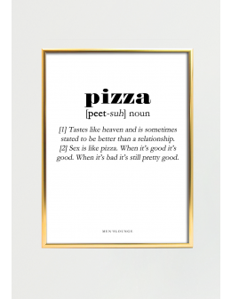 Pizza Definition 30x40